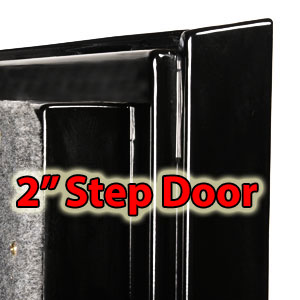 2 inch Jig-Saw Door.
