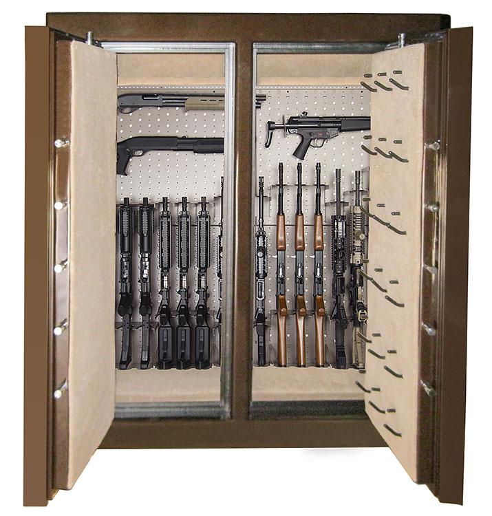 Custom Safe Interiors Sportsman Steel Safes