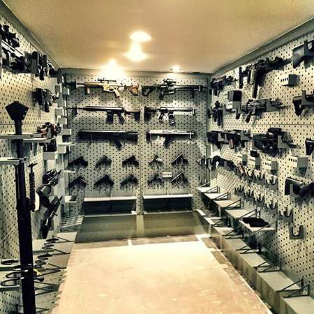 Gun safes safe rooms for austin texas sportsman steel for Walk in gun vault room