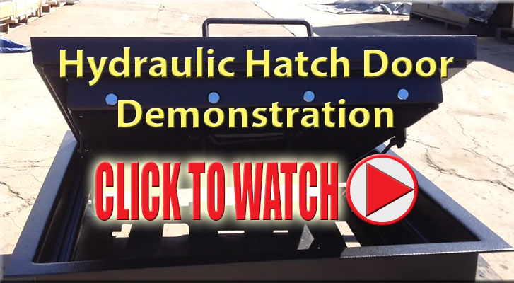 Hydraulic hatch door video