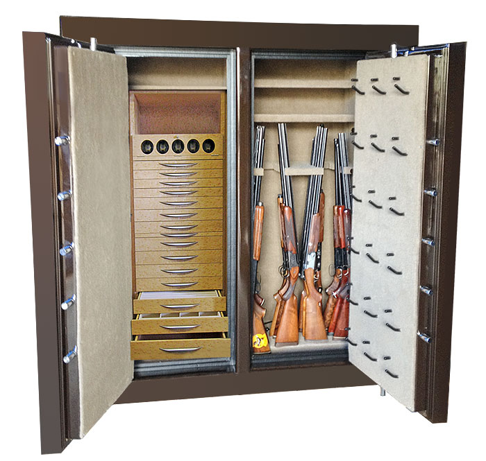 Gun Safe Options Amp Interiors By Sportsman Steel Safes