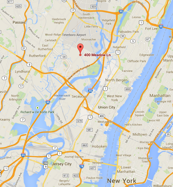 New Jersey gun safe dealer map