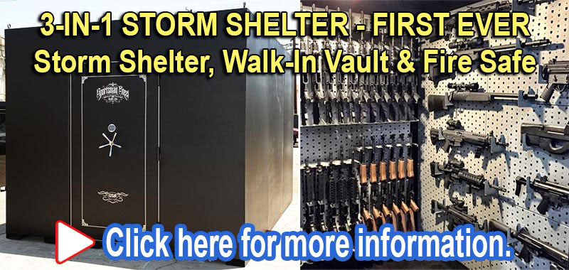 Safe rooms storm shelters