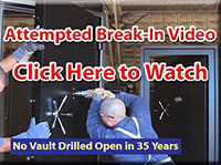 Vault Door attempted break in test - Sportsman Steel Safes