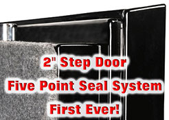 Step System Safe Door - Sportsman Steel Safes