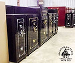 Oklahoma gun safe store and warehouse