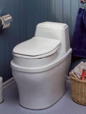 Chemical toilet for survival shelter