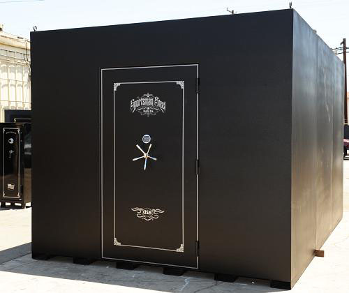 Survivalist shelters safe rooms sportsman steel safes for Safe rooms