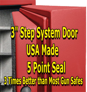 Best gun safe step system door