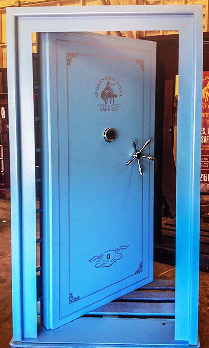 Phantom Vault Door, Phantom Vault Inward swing vault door - Vault Doors Steel Shelter Doors Vault Door For Sale