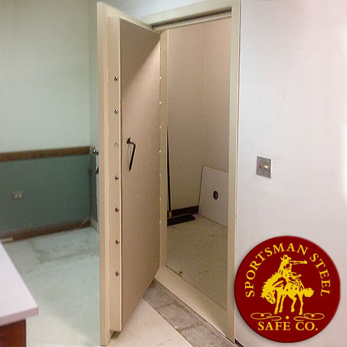 Vault Door Back Trim Flange & Vault Doors | Steel Shelter Doors | Vault Door for Sale