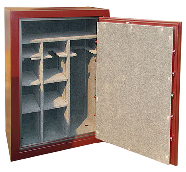 Arsenal gun safe special offer showing interior