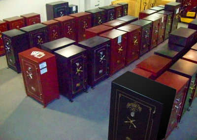 Houston Sportsman Steel Safes showroom