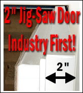 Jig-Saw Step Door