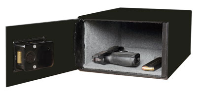 Heavy Duty Handgun Safe interior