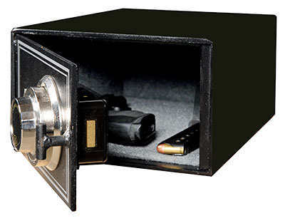 Heavy Duty Handgun Safe with lock American made