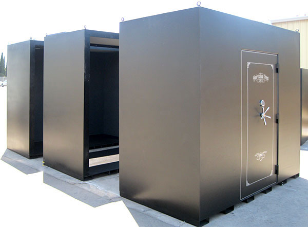 Tornado storm shelters for sale in kansas for Vault room construction