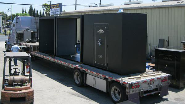 Safe moving companies in Southern California Call Sportsman Safes 800-266-7150