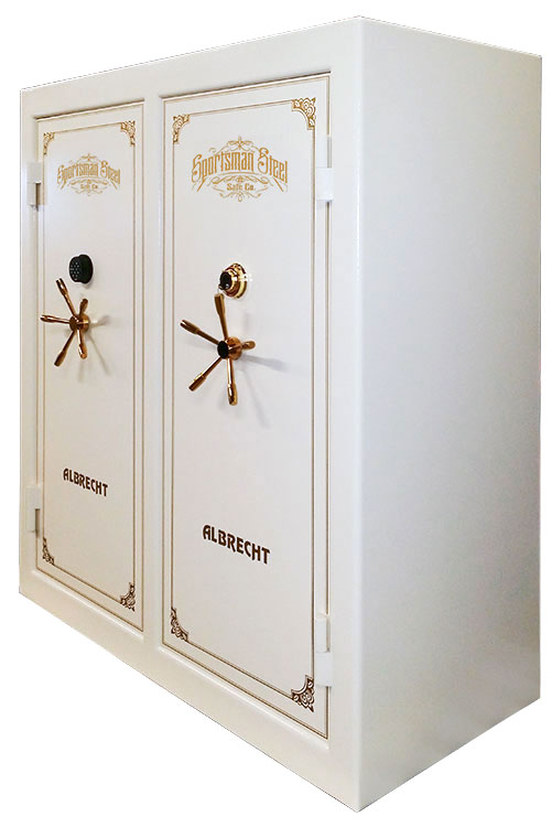 Double Door Wide Body Safe initials  sc 1 st  Sportsman Steel Safes & Big Gun Safes | Large Capacity Gun Safes | Double Door Gun Safe