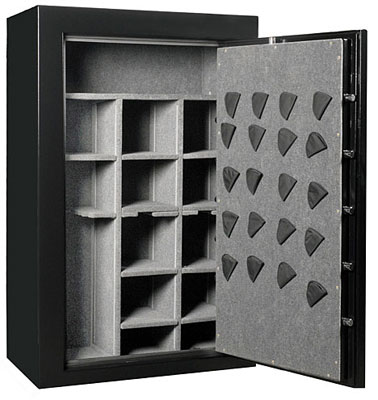 Frontier gun safe interior - Sportsman Safe Co.