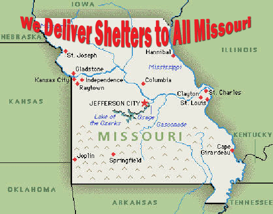 Tornado Storm Shelter Safe Rooms in Missouri