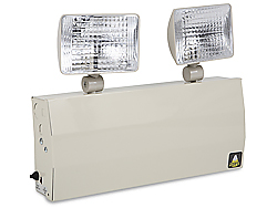 Emergency lighting systems for safe rooms