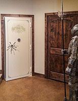 armory vault door custom lettering option