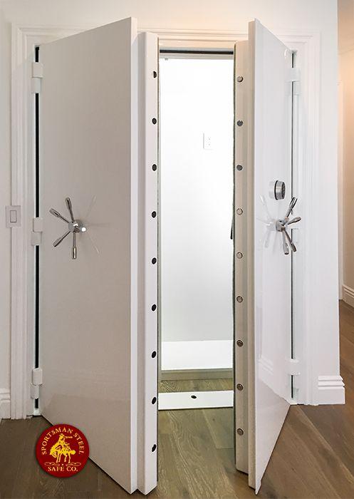Vault doors steel shelter doors vault door for sale for New double door