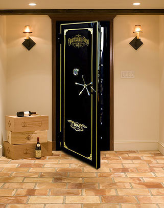 Wine Storage And Wine Vault Door Sportsman Steel Safes