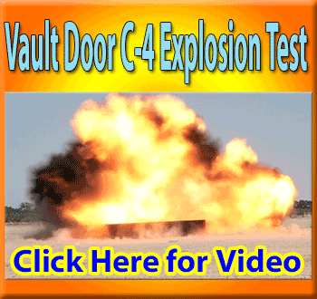 Vault Door blast test video